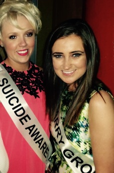 Holly & I at a Cork Rose event